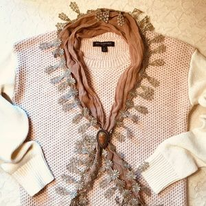 Scarf and Scarf Clip